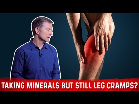 Taking Minerals Yet Still Have Leg Cramps?