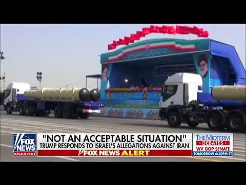 Trump Responds To Israel's Allegations Against Iran