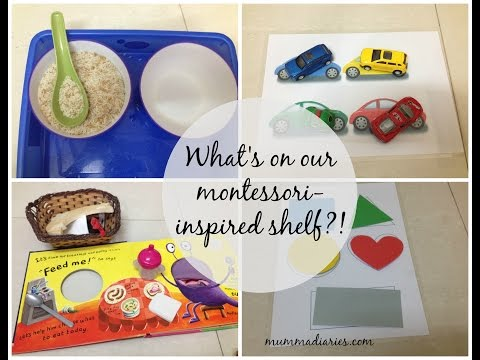 Montessori-inspired toddler learning activities! (w FREE printables!)
