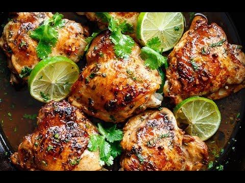 Crispy Cilantro Lime Chicken