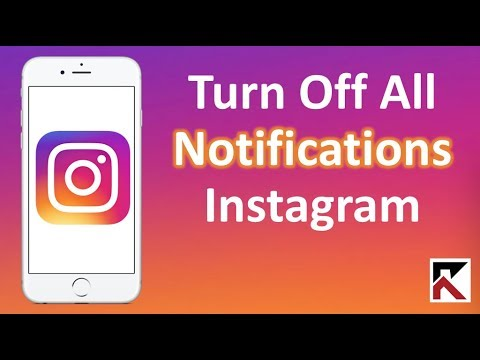 How To Turn Off All Notifications Instagram