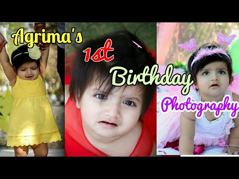 Introducing My Princess| Agrima | Her first Birthday Shoot