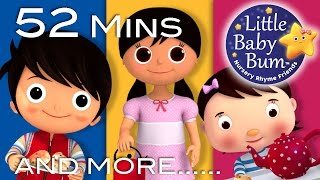 Polly Put The Kettle On | Plus Lots More Nursery Rhymes | 52 Minutes Compilation from LittleBabyBum!