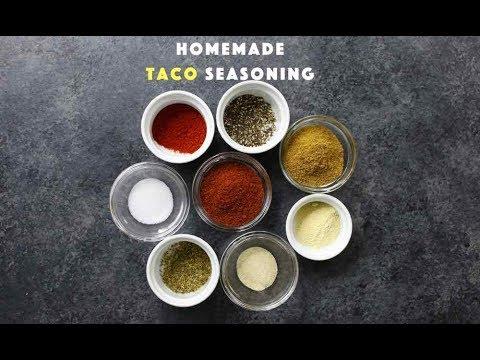 Quick Homemade Taco Seasoning