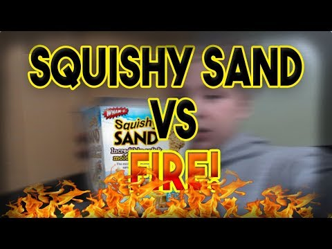 KINECT SAND VS FIRE!! l **GONE WRONG!**
