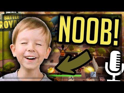 9 Year Old Noob TROLLS Adults! -