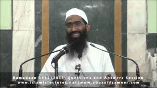 Allaah ke siwa kisi ko ilm e Ghaib nahi hai | Abu Zaid Zameer