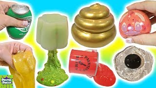 Cutting Open Golden Squishy ! Can I Make Slime From a Squishy!? Doctor Squish