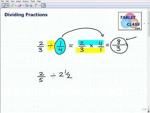 Math Skills for Homeschoolers Fractions
