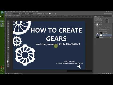 Photoshop Tutorial Creating a Gear Fast and Precise