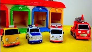 Helper Cars 🚓 🚒 auf Deutsch: die Helfer Autos stellen sich vor 🚗 – Video für Kleinkinder