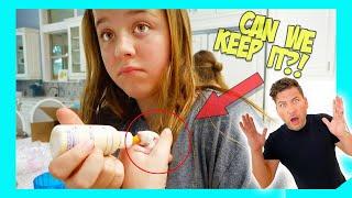 WE KEEP THE BABY RAT!! **JESSE HAS NO IDEA**