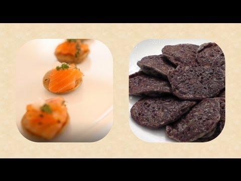 How To Make Blini  - Mushroom Blini Recipe - Mushroom - Pancakes Recipe - Cooking Classes