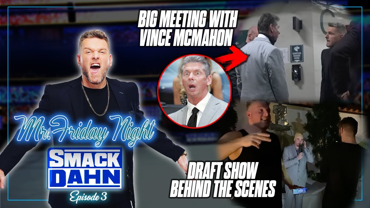 Behind The Scenes Of Pat McAfee's Record Breaking Draft Spectacular | Mr. Friday Night Vlog #3