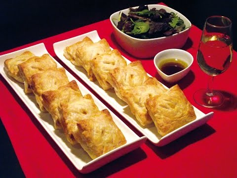 How to make super Fast, easy chicken pastries.