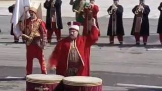 Turkish Military Band Performs at Pakistan Day Parade