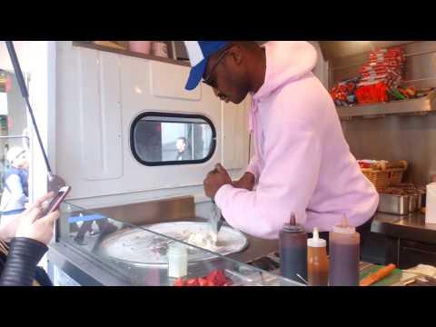 Ice Cream Rolls - Street Food - Westfield Stratford City