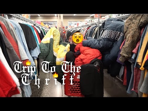 Trip To The Thrift 35 | Barneys New York, Tommy Hilfiger, Nutmeg & Pro Player found in the thrifts!