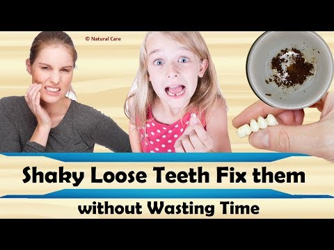 Shaky Loose Teeth Fix them without Wasting Time