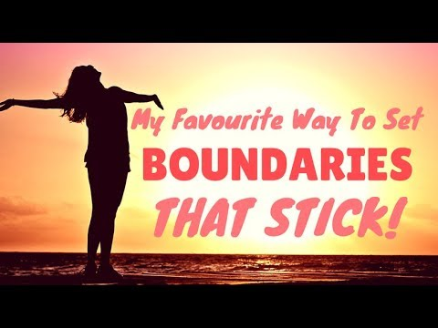 My Favourite Way To Set Boundaries That Stick