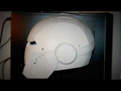Iron Man Helmet - Mark III -  Template - Scratch Build