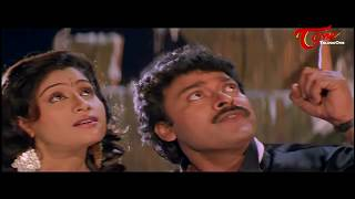Chiranjeevi  Romance with Vijayashanthi || Best Romantic Scene of Tollywood #132