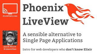 Phoenix LiveView for web developers who don