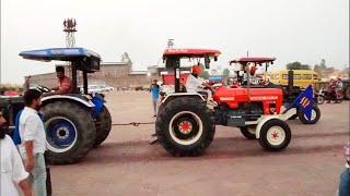 Sonalika 60 Rx vs Swaraj 855 fe 5star tractor tochan in Punjab