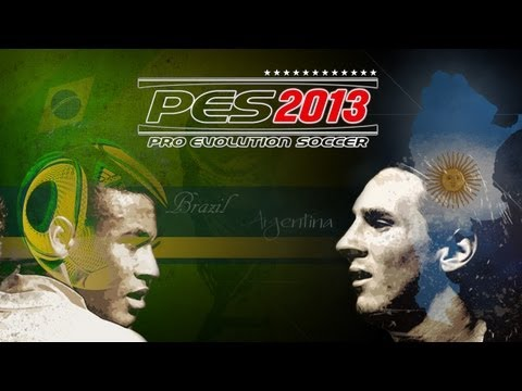 PES 2013 Brazil Vs Argentina - Playthrough Commentary, Superstar Difficulty