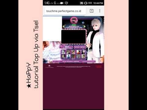 Tutorial Top Up via Tsel/Telkomsel Line Touch Me (HapPy Guild)