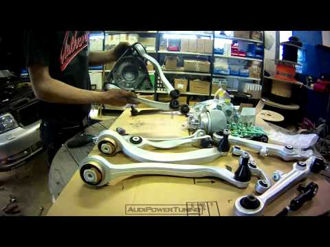 Timelapse - New Control Arms - Audi A4 B5 1.8T Quattro