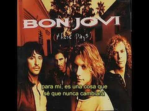 Bon Jovi - (It´s hard) Letting you go subtitulos español