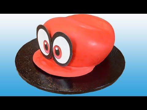 Super Mario Odyssey Hat Cake - Cappy Cake
