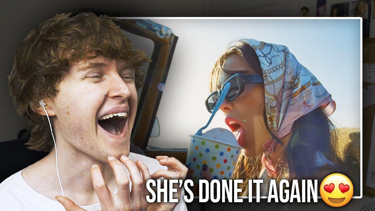 SHE'S DONE IT AGAIN! (Olivia Rodrigo - deja vu   Music Video Reaction/Review)