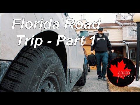 2018 Road Trip To Orlando and Daytona Florida pt1 - 3 Days of Driving