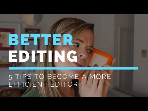 5 Ways to Become a Better Editor for DIY Video -- Paige Media
