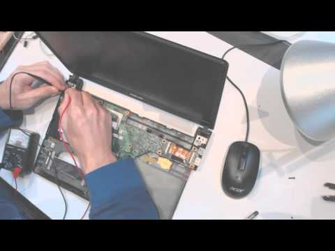 Asus q400a not charging burning smell burning motherboard smoke how to fix solution