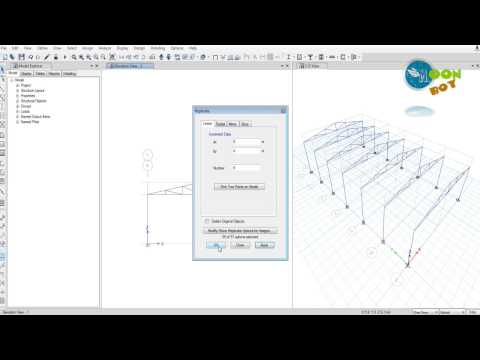 Etabs 2015 tutorial 10 | Steel Truss Modelling and Design | Using IS Codes | Part-1