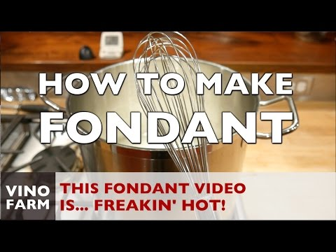 How to make FONDANT for BEES!