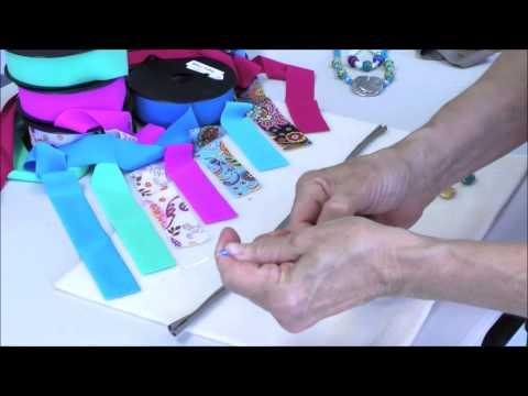 Antelope Beads - Lycra Ribbon Beading Cord For Jewelry Making