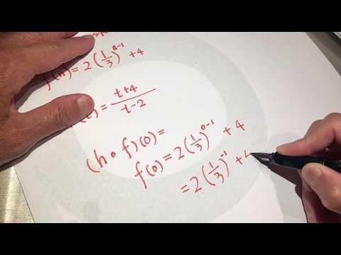 Algebra 2 inverse functions asmr