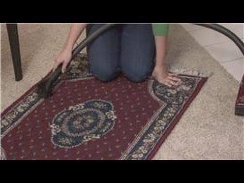 Housecleaning & Home Maintenance : How to Keep a Wool Rug From Shedding