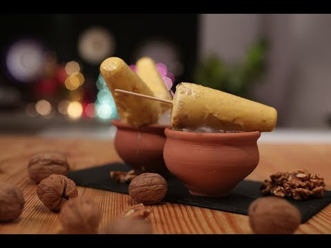 Pumpkin and Walnut Kulfi | Cooking with California Walnuts | Sanjeev Kapoor Khazana