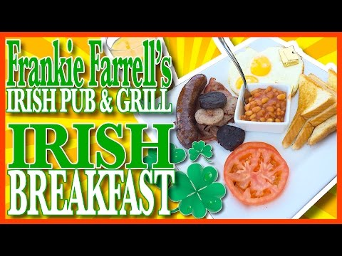 Irish Breakfast with Blood Pudding at Frankie Farrell's