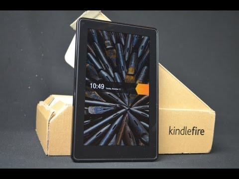 Amazon Kindle Fire: Unboxing & Review