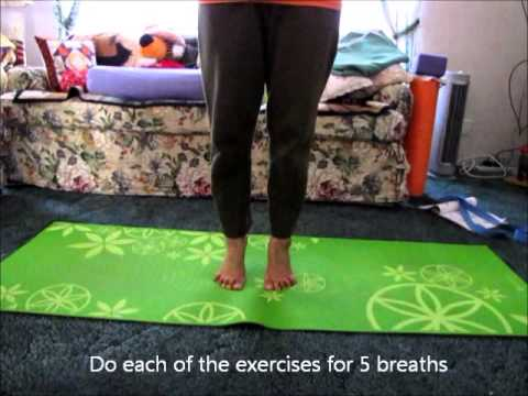 Using Yoga to Heal Sprained Ankle