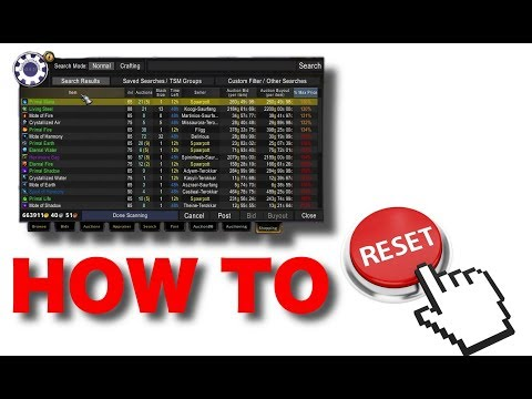How to Reset Markets on the Auction House (Buying and Reselling - Price Resetting)