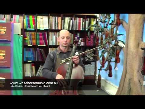 Cello review Gliga III vs Struna Concert? $2500 price range