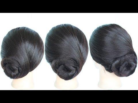so easy juda hairstyle || low bun || chignon hairstyle || simple hairstyle || medium hairstyles