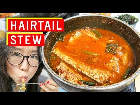SPICY Korean Hairtail Stew at Namdaemun Market